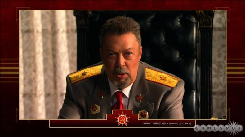 Do not adjust your monitor. That is, in fact, actor Tim Curry, and yes, he's giving you a mission briefing in a Command & Conquer game.