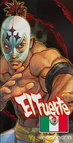 Though an aspiring chef, El Fuerte is taking a break to focus on turning his opponents into mincemeat.