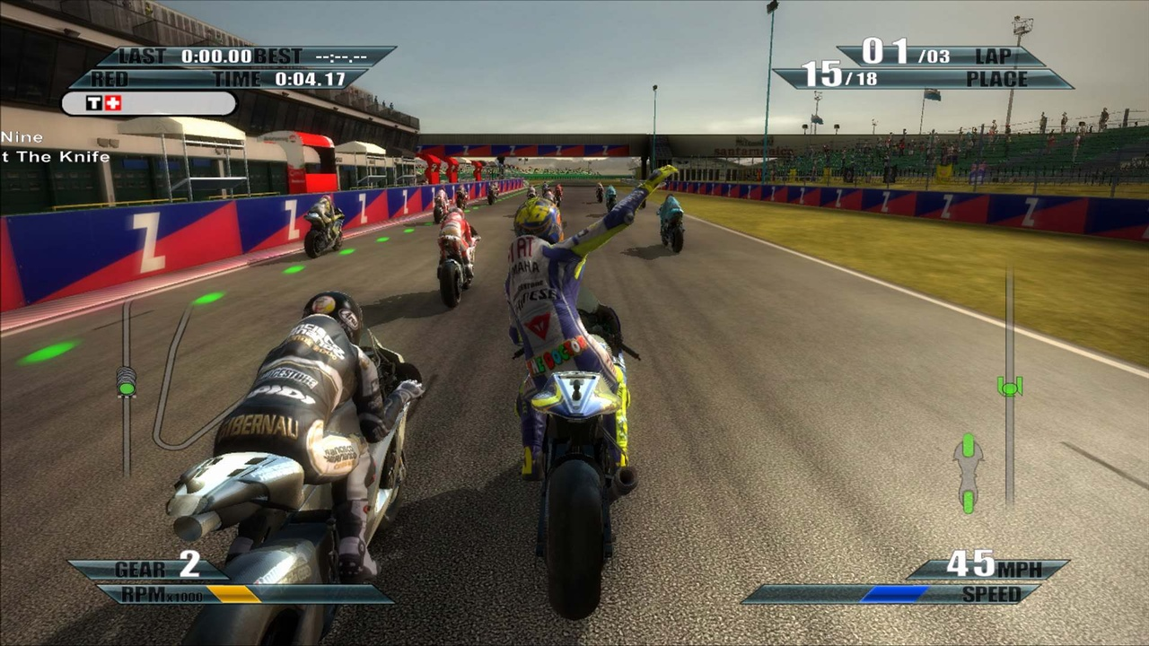 With two full seasons and four different classes to choose from, MotoGP 09/10 should be packed full of nail-biting two-wheeled action.