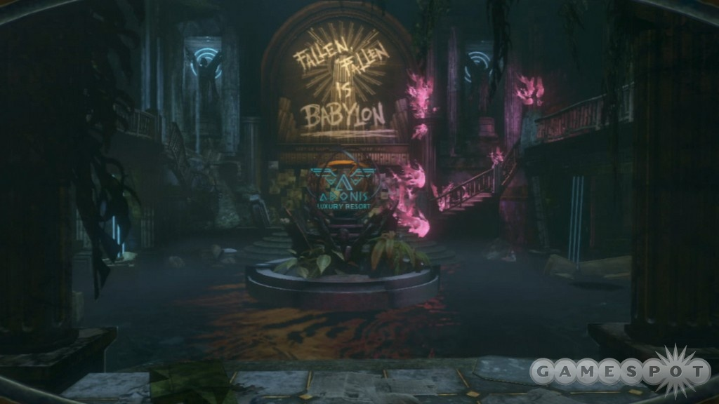 Rapture is a haunting and atmospheric place under the sea.