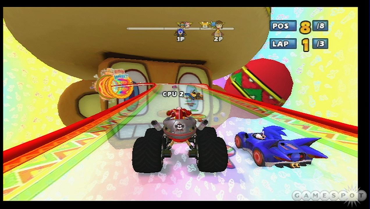 Eggman vs. Sonic one more time.