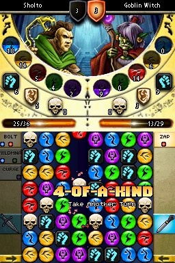 The puzzles are the best part of the game, now that the role-playing elements have been simplified.
