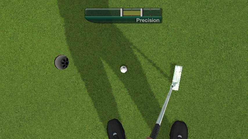 The optional first-person camera angle makes Tiger Woods 11 an even more lifelike simulation than last year's game.