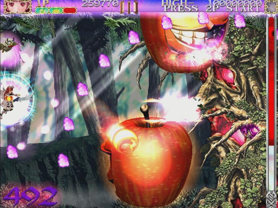 Killer apples and demonic trees are among many other strange bosses.