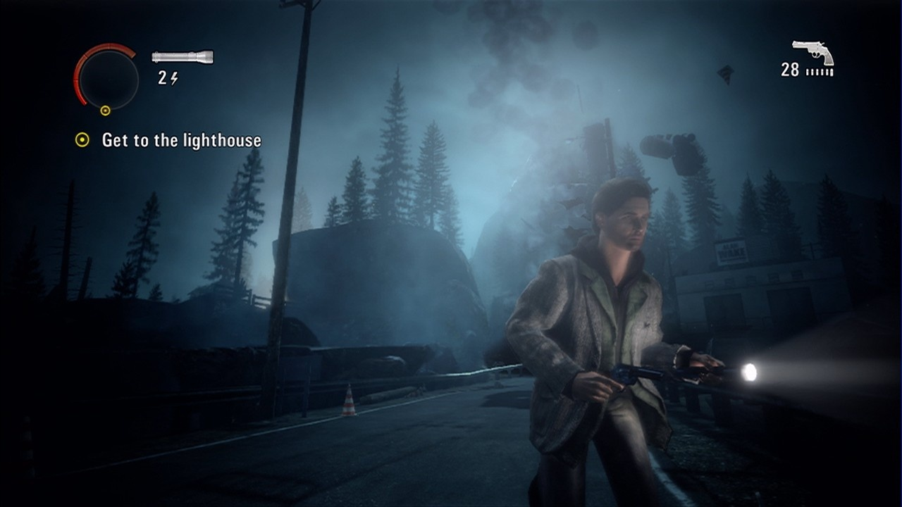 Alan Wake is one adaptable author.