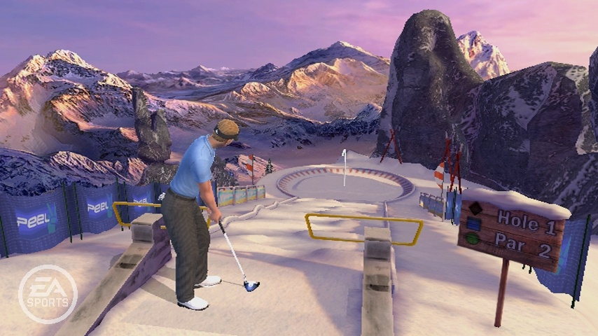 Minigolf is one of the new features for this year.