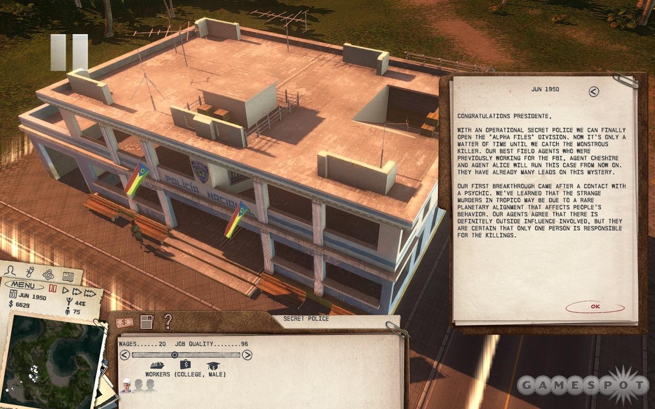 Scenarios in Absolute Power often feature detailed, offbeat storylines.