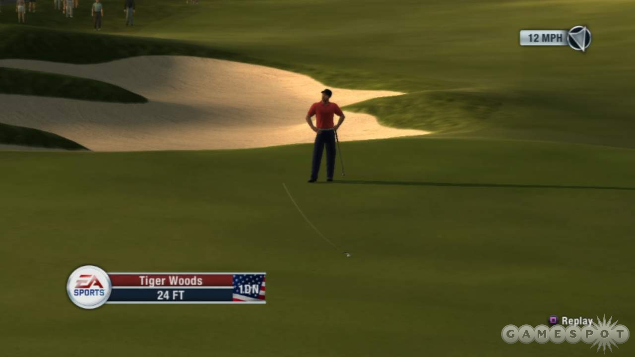 In Ryder Cup mode you're at the mercy of any AI player you partner with.