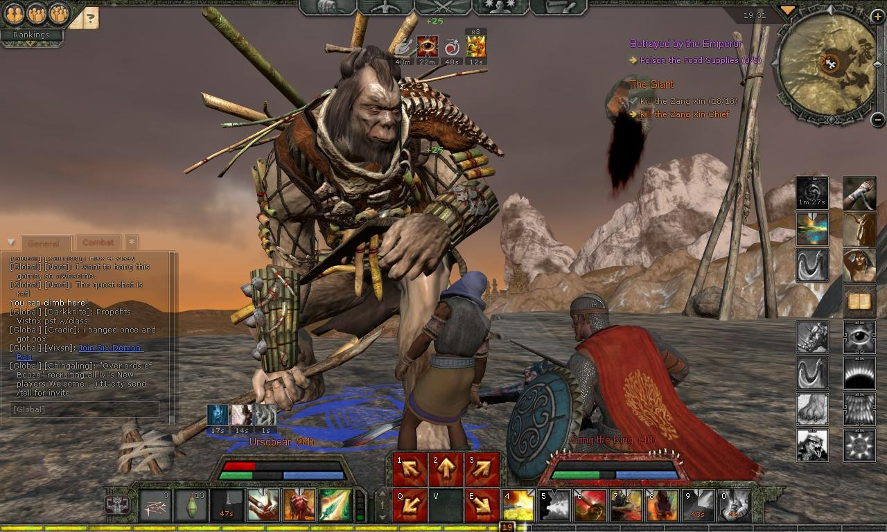 You meet this big boy toward the end of your initial adventures in Khitai.