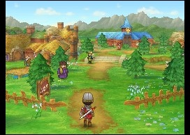 Bucolic role-playing villages are just lovely, aside from the inevitable monster issues.