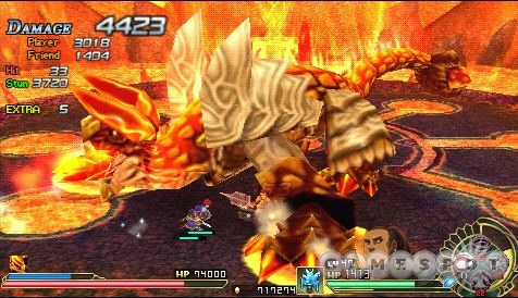 Big, scary monsters stepping on your face. The height to which all boss battles should aspire.