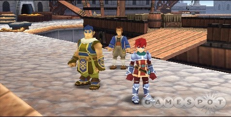 Adol Christin. Loves sea voyages, his best friend Dogi, and cutting everything in sight.