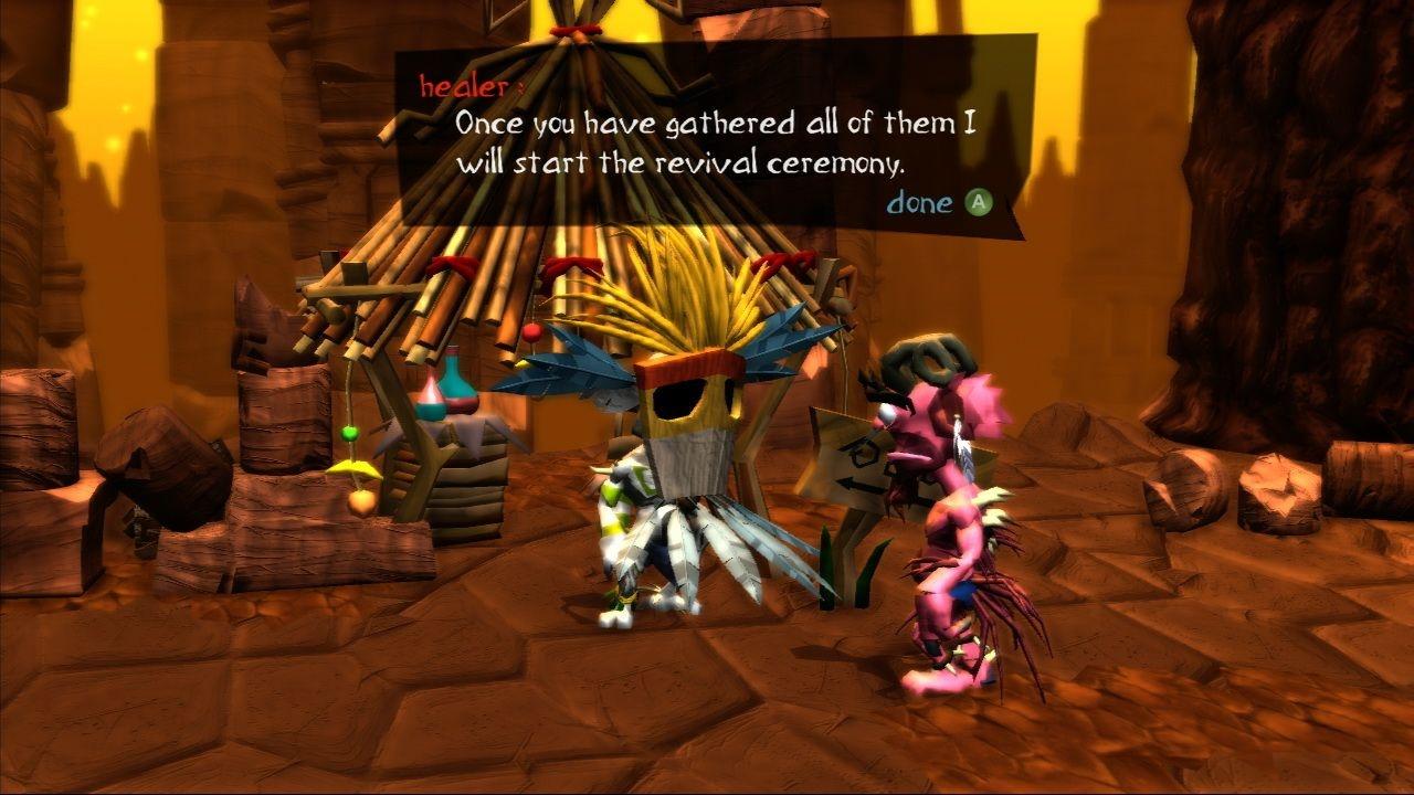 Ceremonial fetch quest! Get on it.