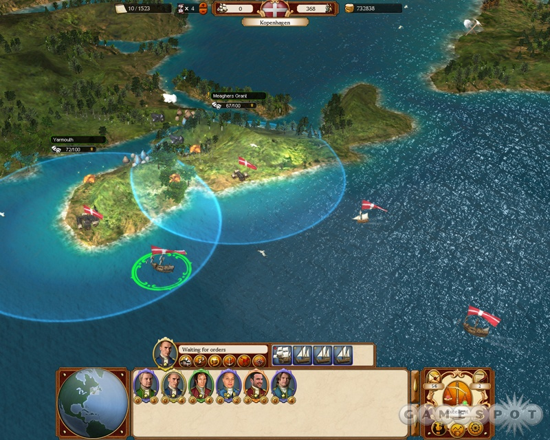 Establishing a solid trade route can make or break your empire.