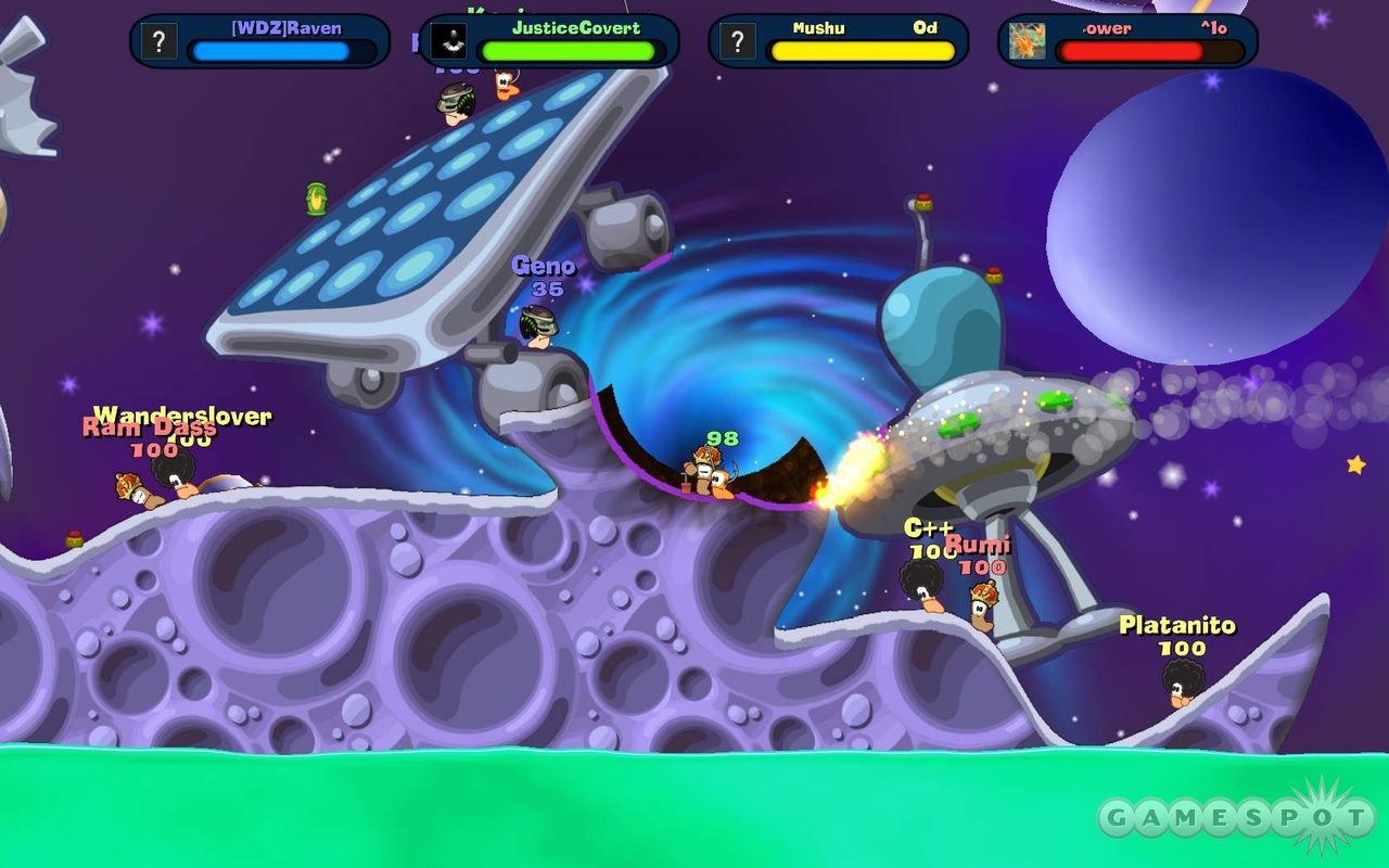 Worms Reloaded is best enjoyed with other players.