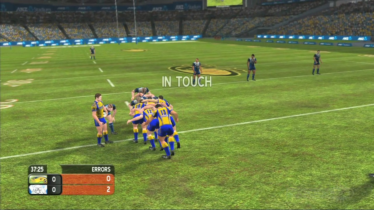Player models don't look great in Rugby League Live.