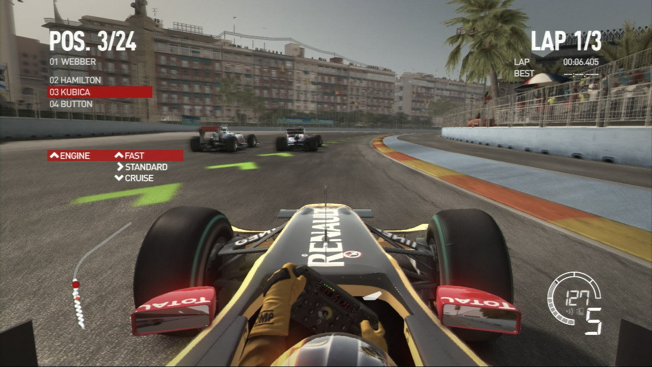 Little details around the track really add to the immersion.