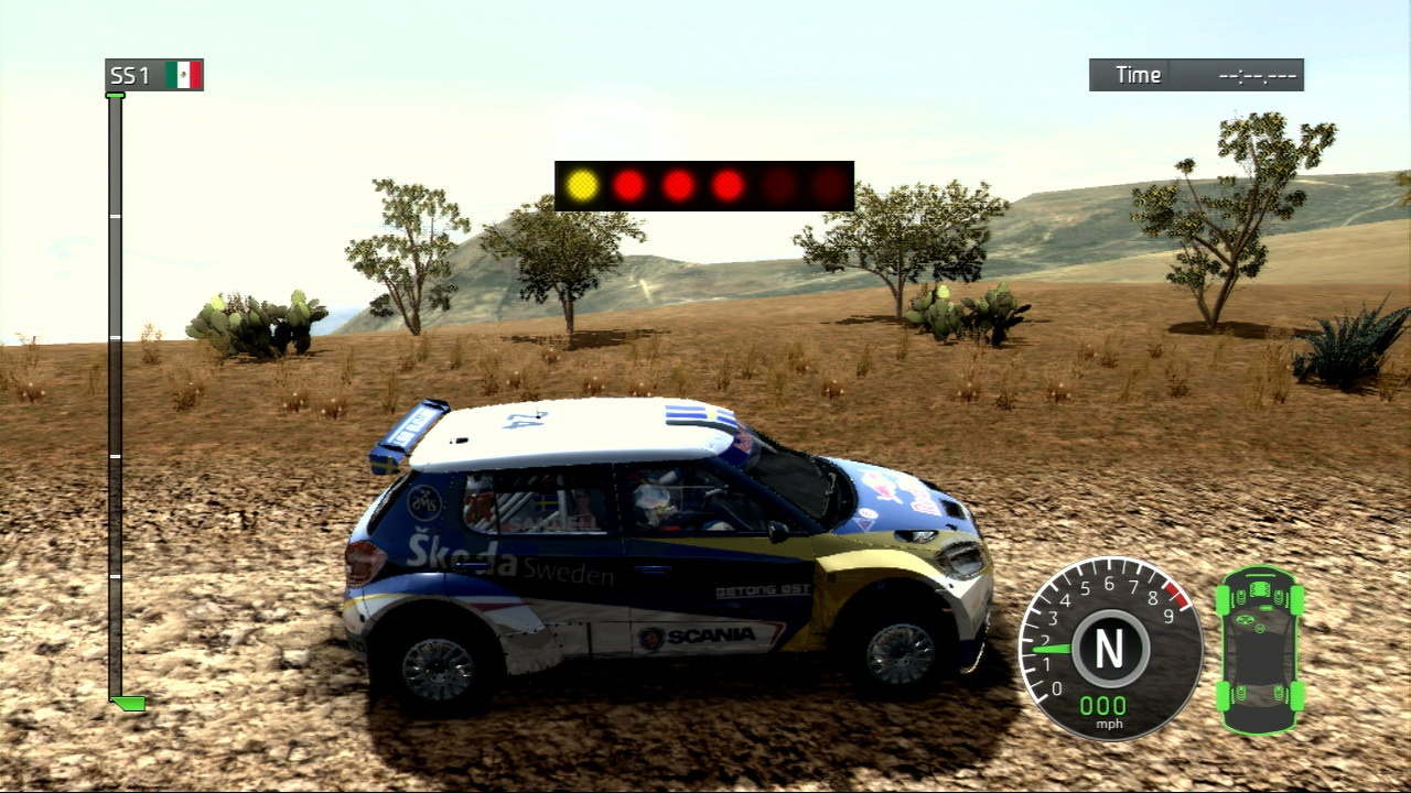 Car handling in WRC is responsive, but the visuals fail to meet the same standard.