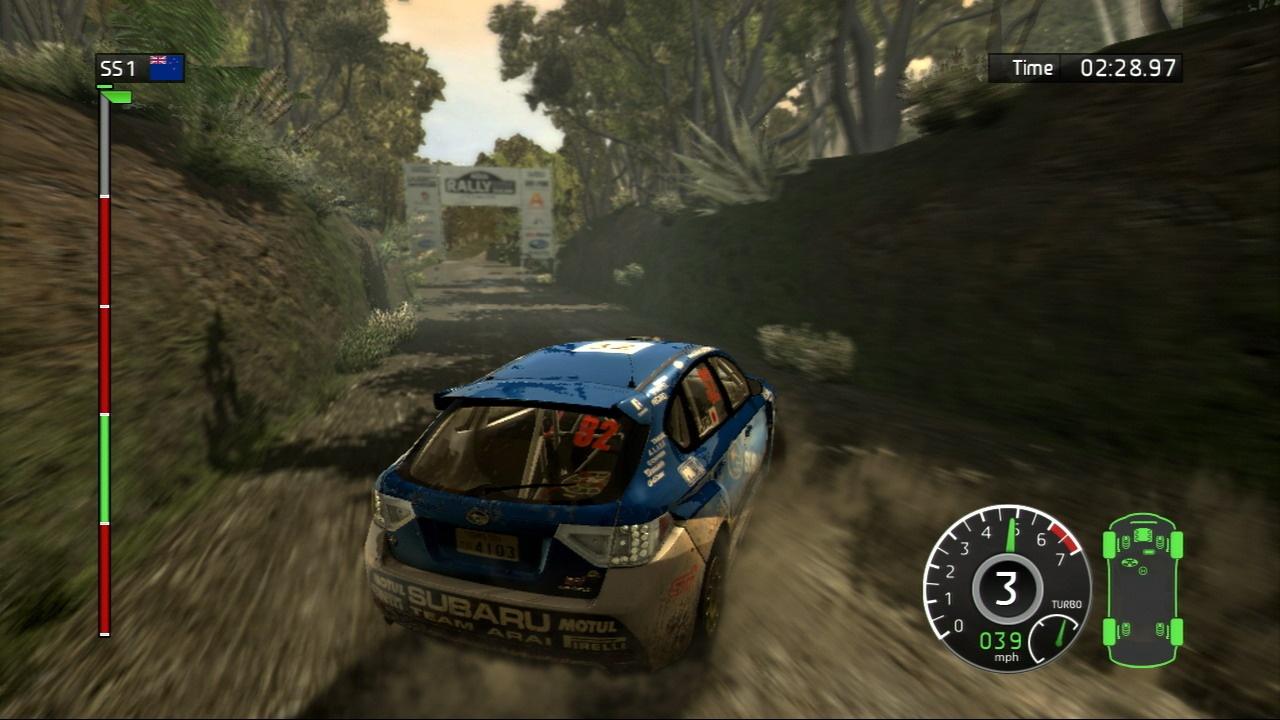 The handbrake is your best friend in WRC.