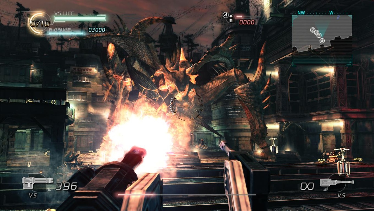 The technology powering Lost Planet 2 is incredibly impressive.