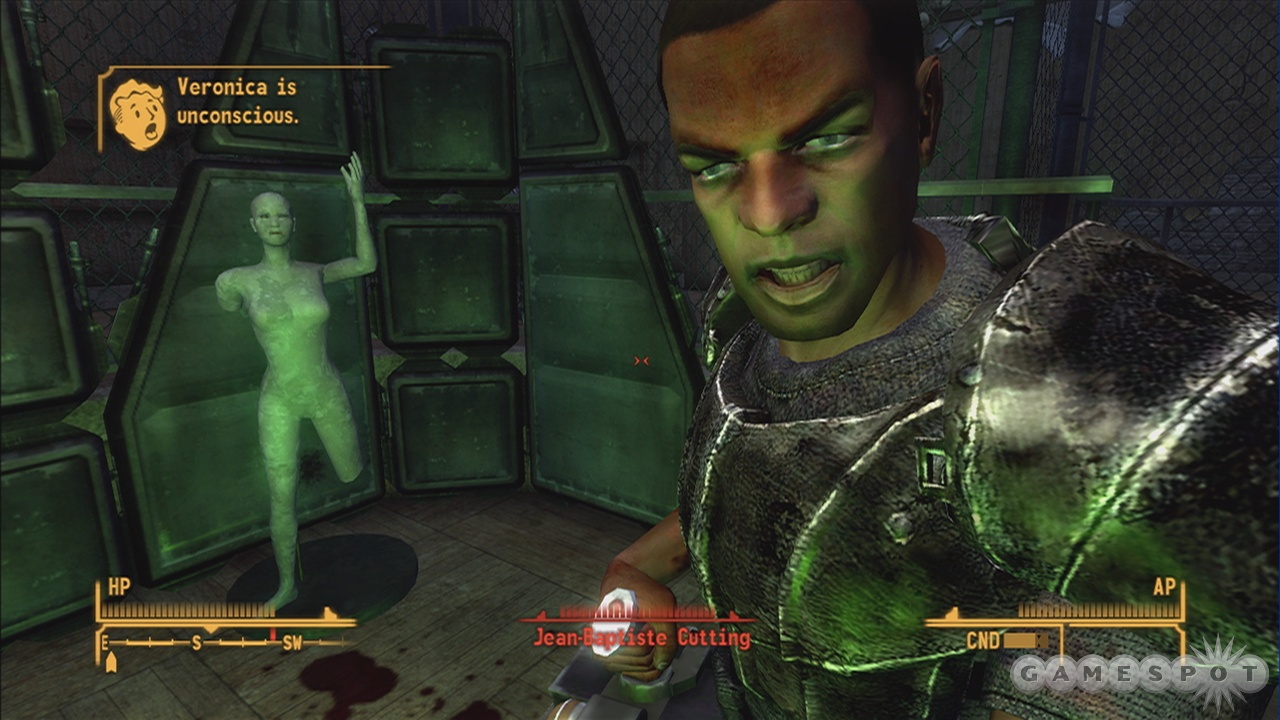 Judging by this guy's sneer, he just encountered one of this game's broken missions.