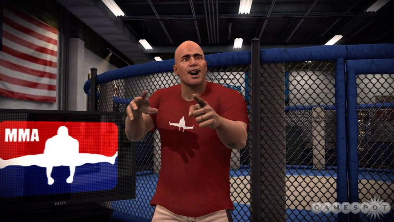 Bas Rutten isn't just your Career mode trainer, he's also a very strong playable fighter.