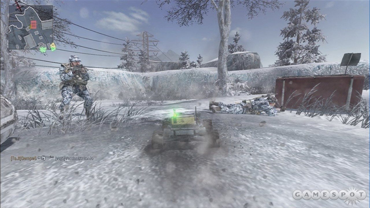 Nothing like a remote control car strapped with C4 to ruin your enemy's care package party.