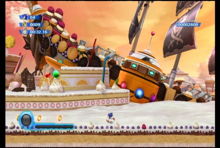 Sonic's new adventure is oh so sweet.