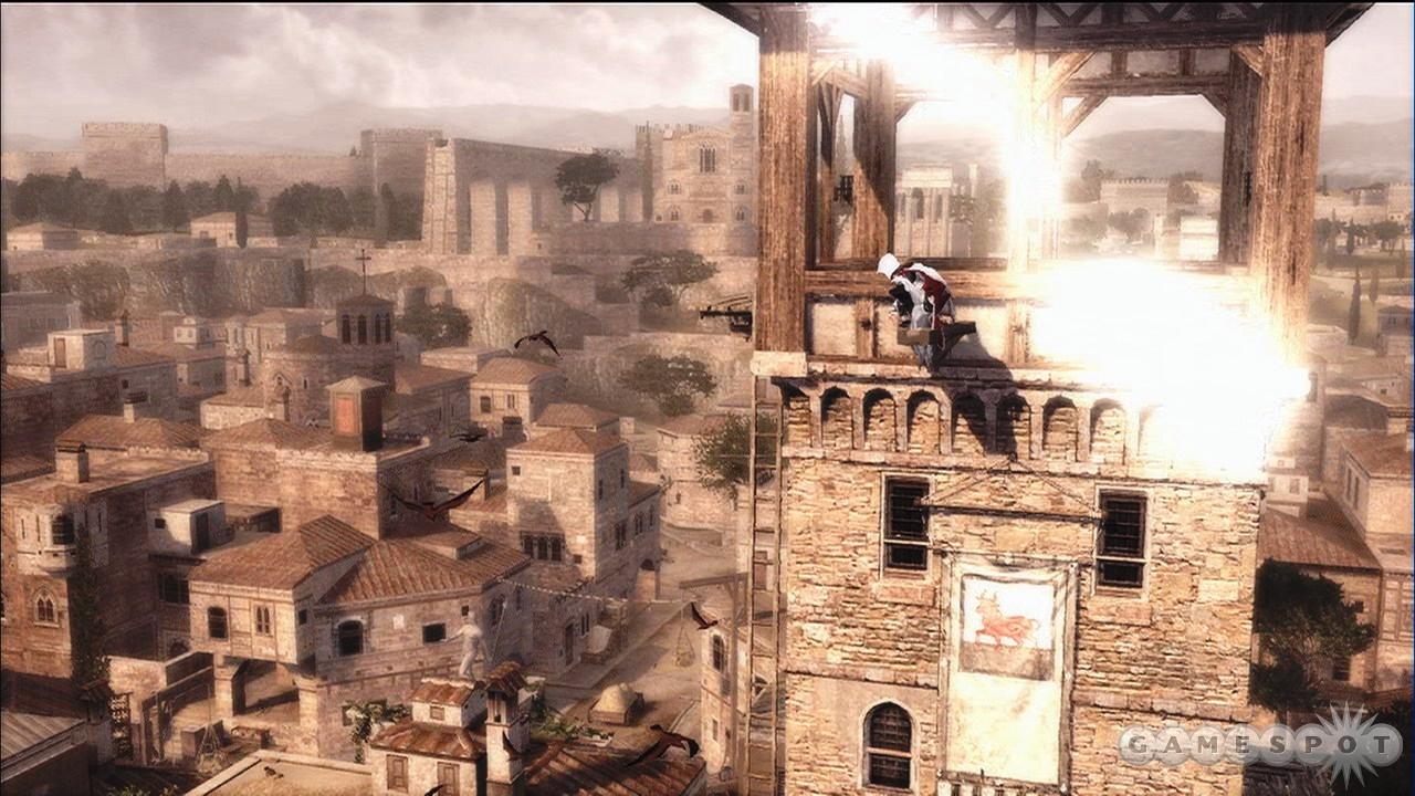 Ezio enjoys some quiet time.