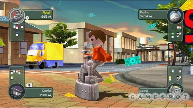It's not every day you see a Mii skateboarding on a battleship.