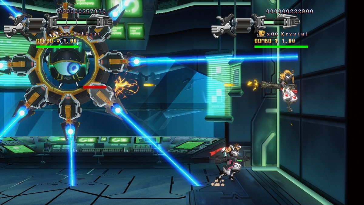 Got mad skills? Uprising's brutal boss battles will put you in your place.