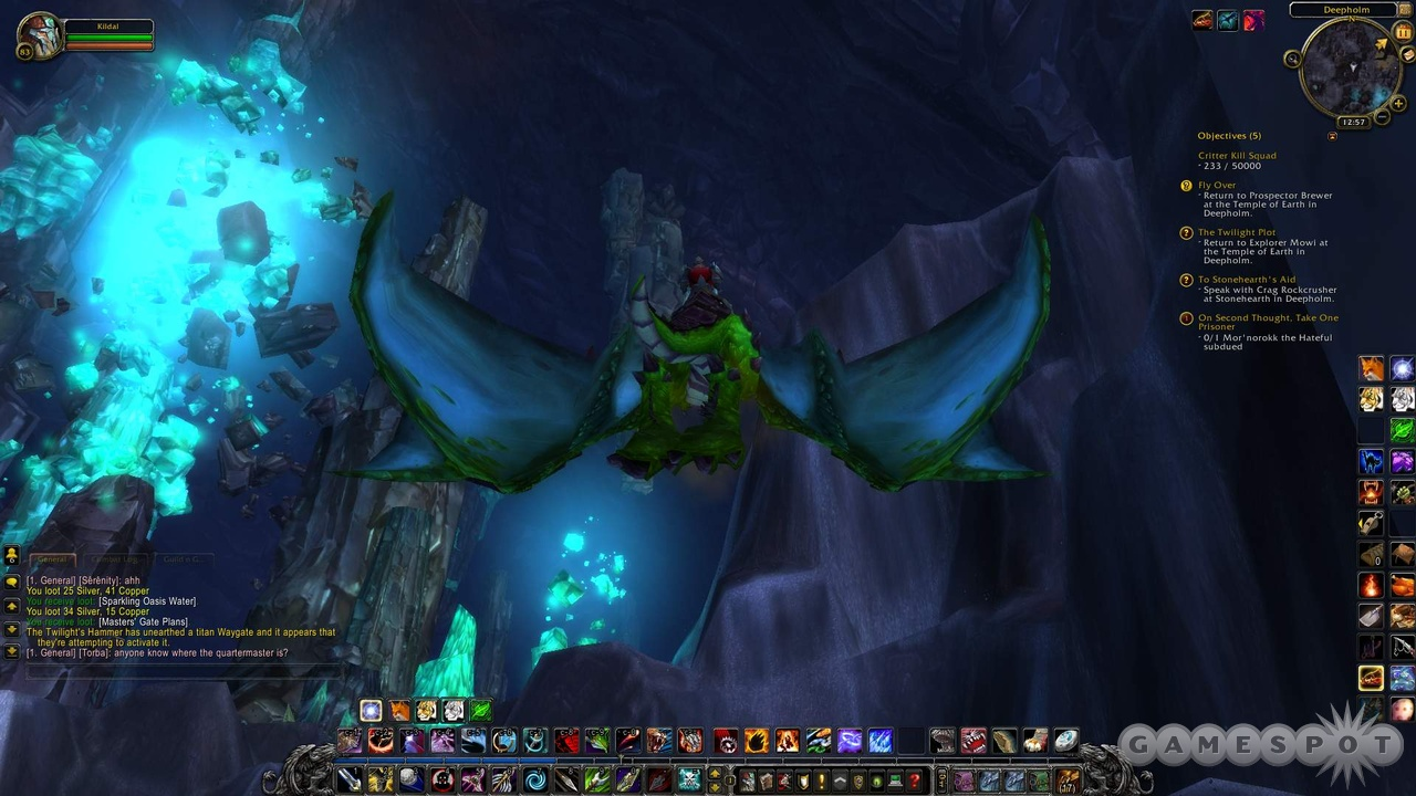 High-level questing zones like Deepholm are some of WoW's best to date.