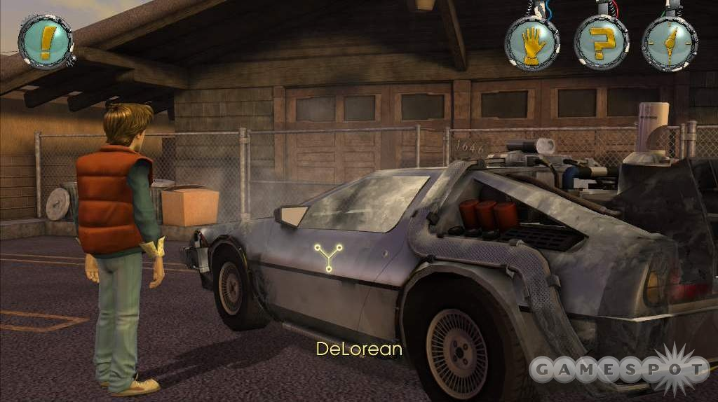 Doc's time-warping DeLorean is as sweet as ever.