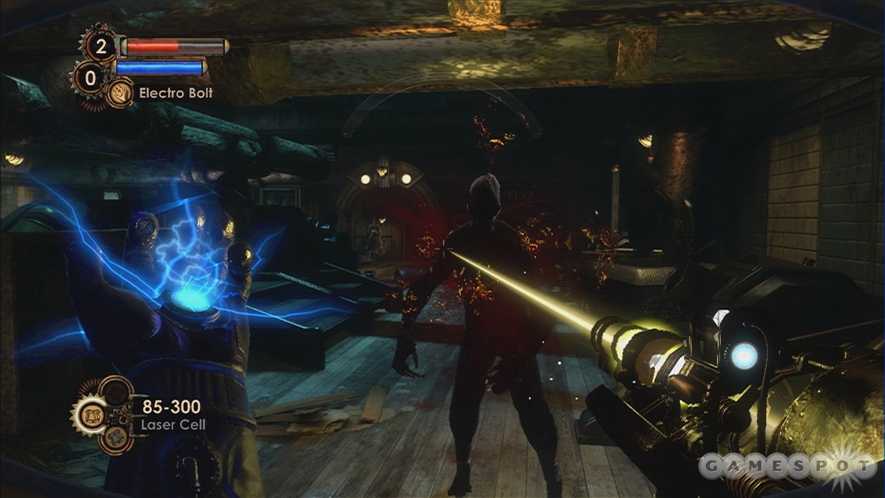 Splicers getting to you? Break out the handy new ion laser.