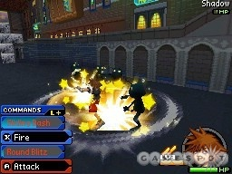 When keyblades attack! These poor Heartless never saw it coming.