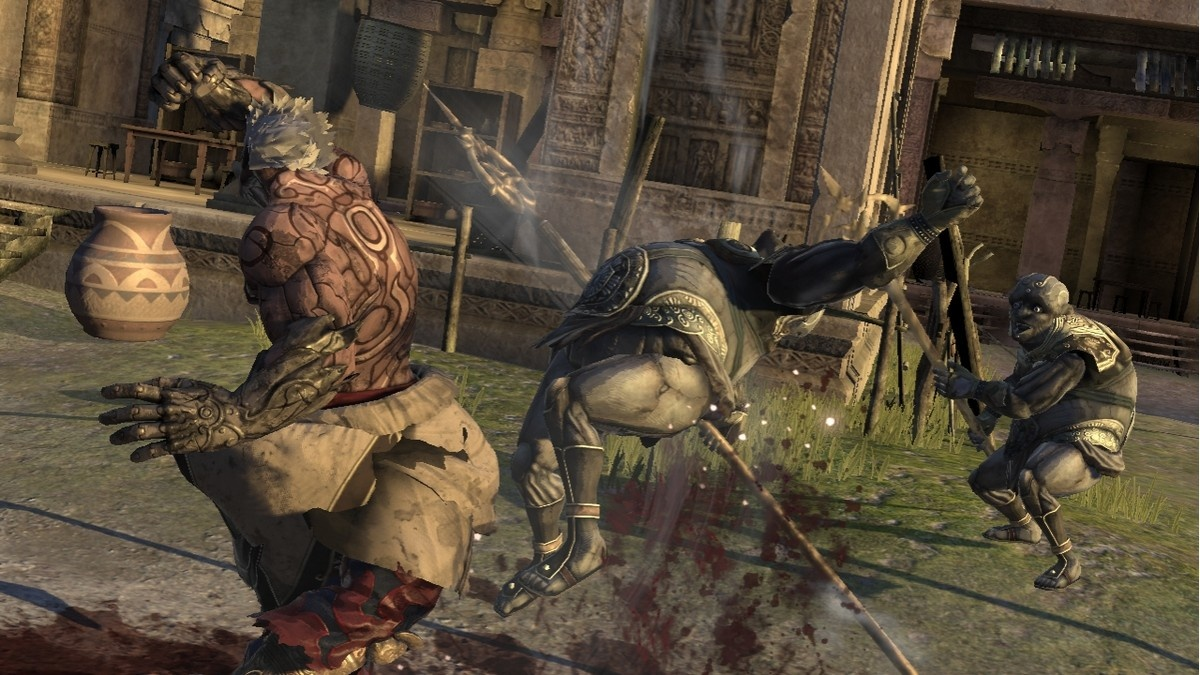 Combat gets in the way of the game's main attraction.