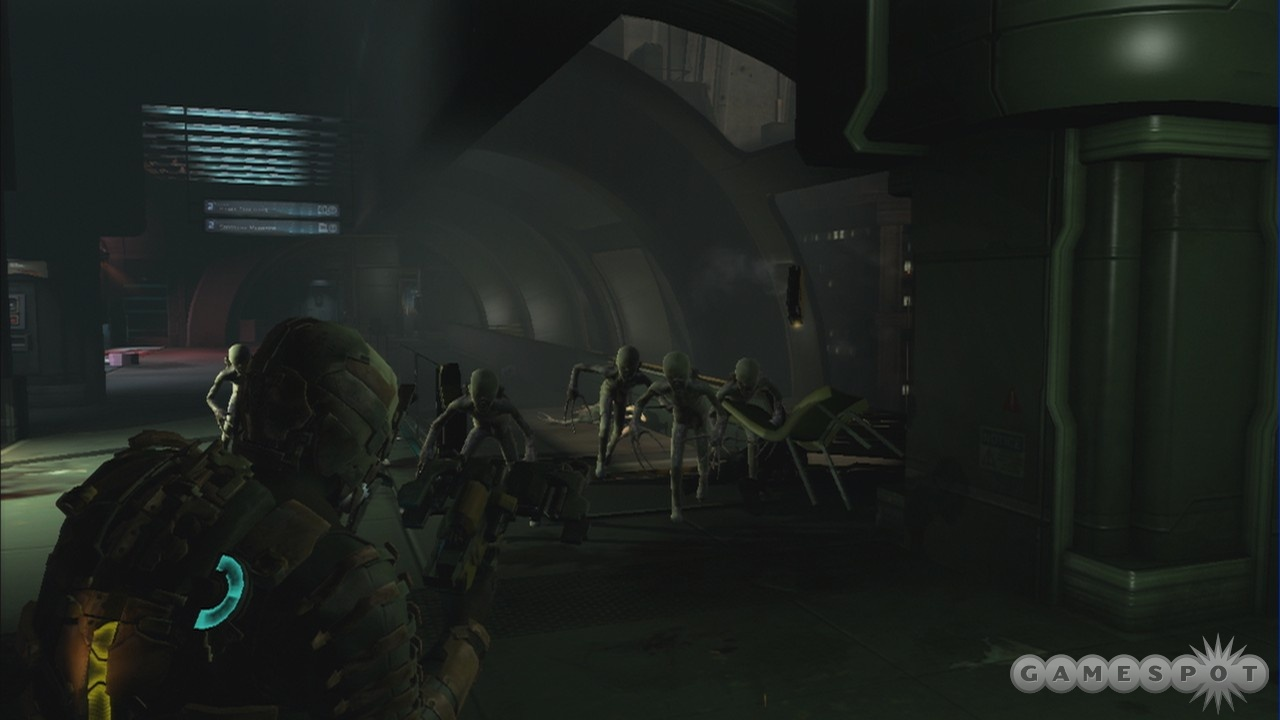 The pack are one of the deadly and terrifying new types of necromorph that you encounter.