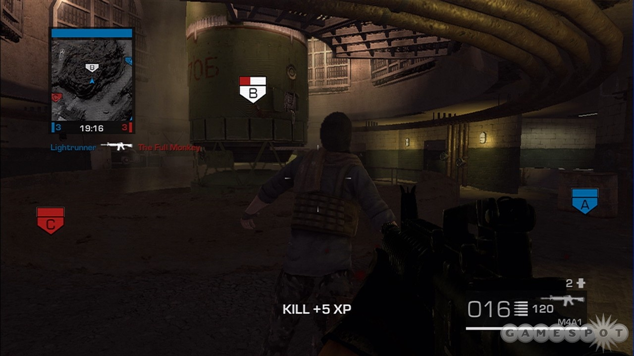 Taking out enemies feels good. A faster unlock system would have made it feel better.