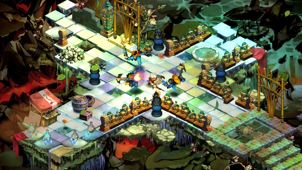 Behold: anime-style action RPG Bastion.