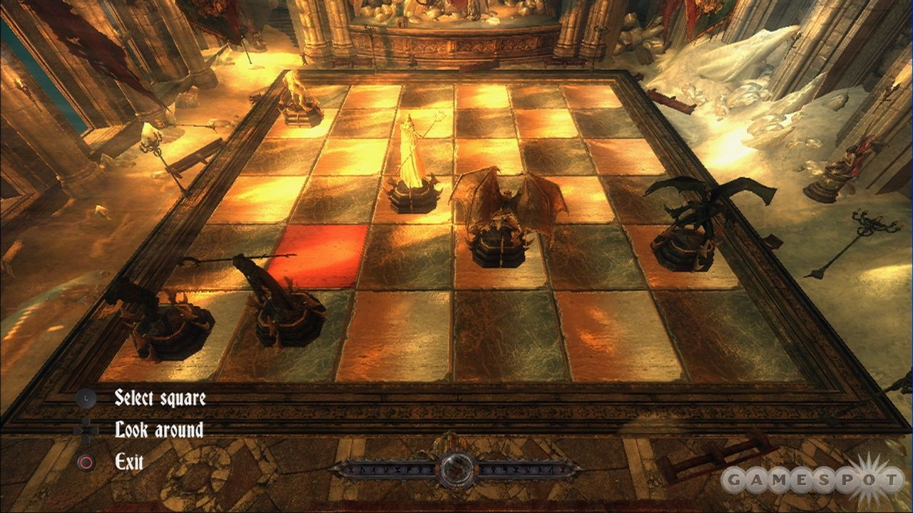 Castles and giant chess boards go hand in hand.