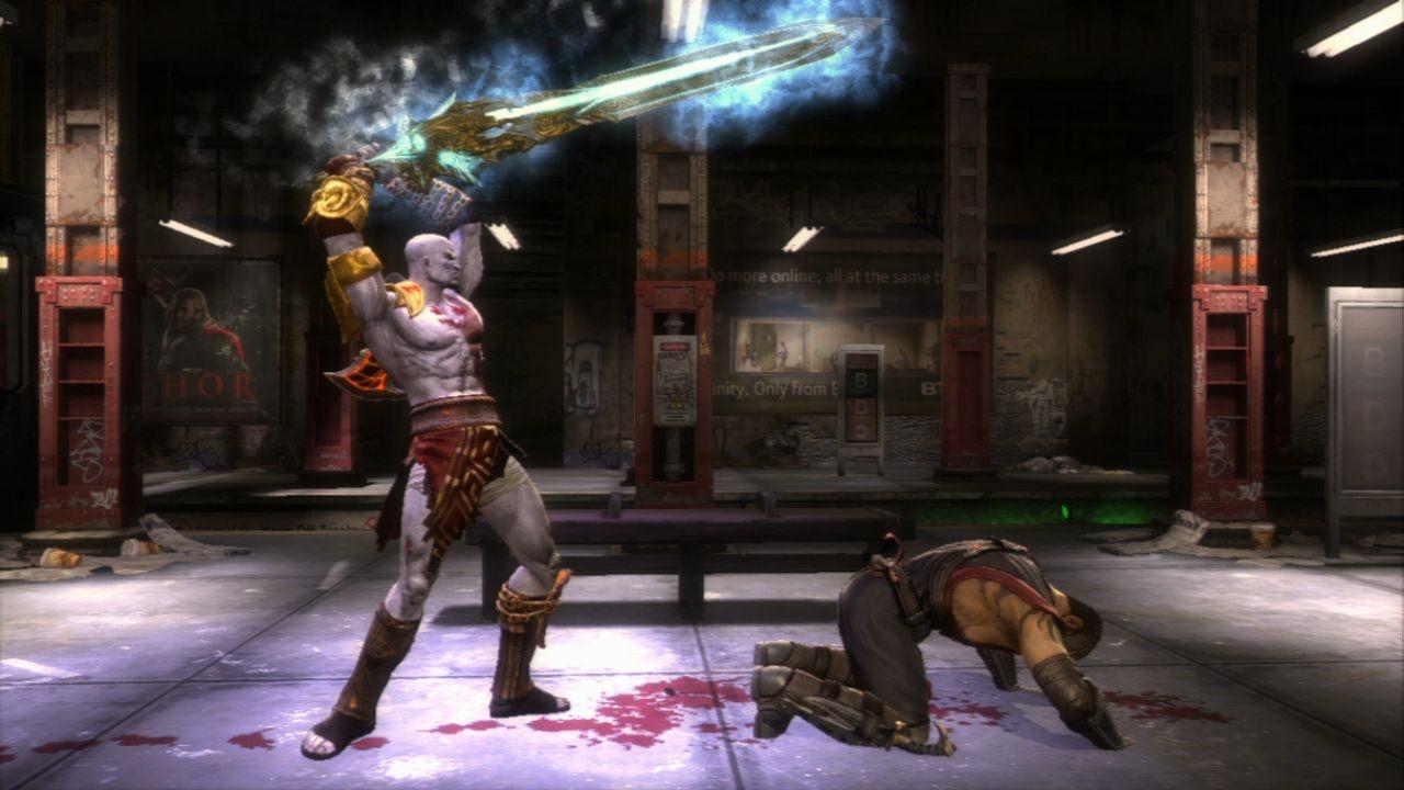 Kratos shows no mercy.