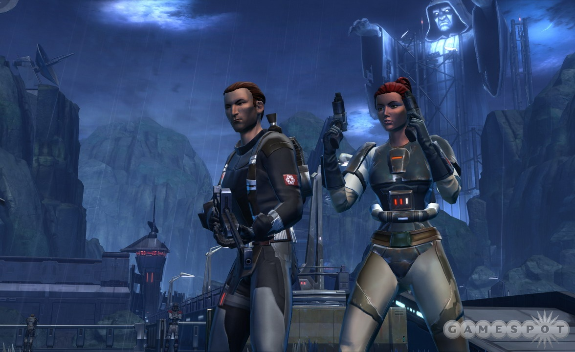Bounty hunters tend to shoot first and ask questions later, but The Old Republic's group dialogue system will let you direct the conversation.
