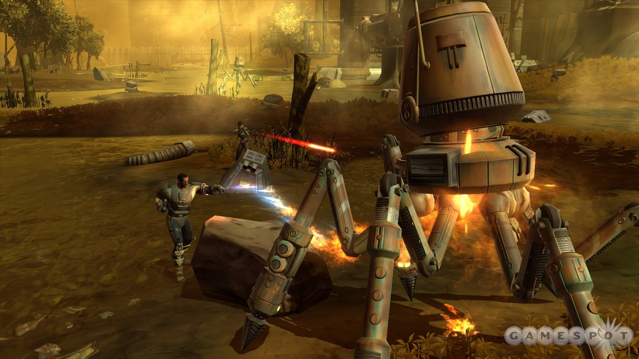 Droids are poor companions. Maybe their scrap will be worth something.
