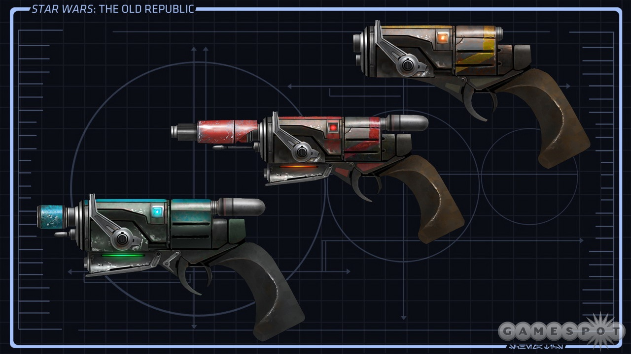The best bounty hunters speak softly…and carry quality blasters.