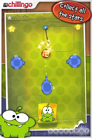Cut the Rope can be enjoyed for a few minutes at a time, or for much longer.