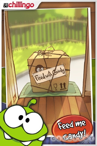 Grabbing candy is what it's all about in Cut the Rope.