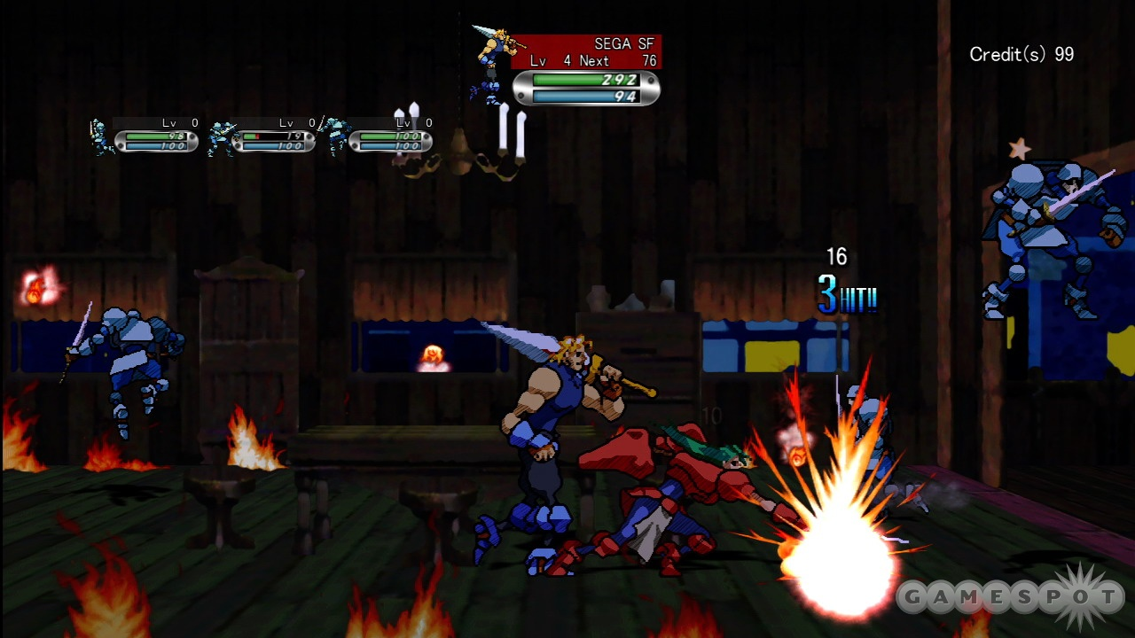 Guardian Heroes HD will bring back the hectic brawling action of the cult-classic Sega Saturn game.