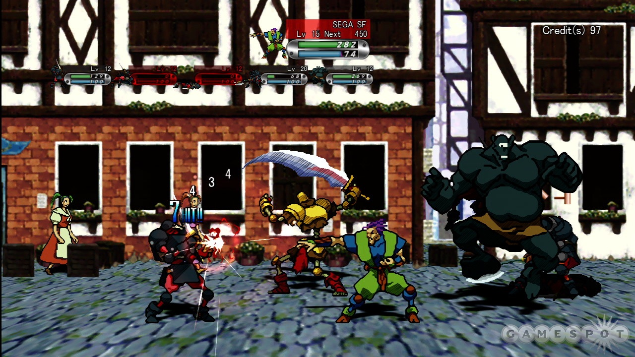 Remember how crazy battle mode got with six players? Guardian Heroes HD will let you play with 12.