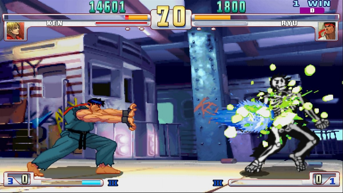 You may get a shock from how quickly the difficulty ramps up in Third Strike.