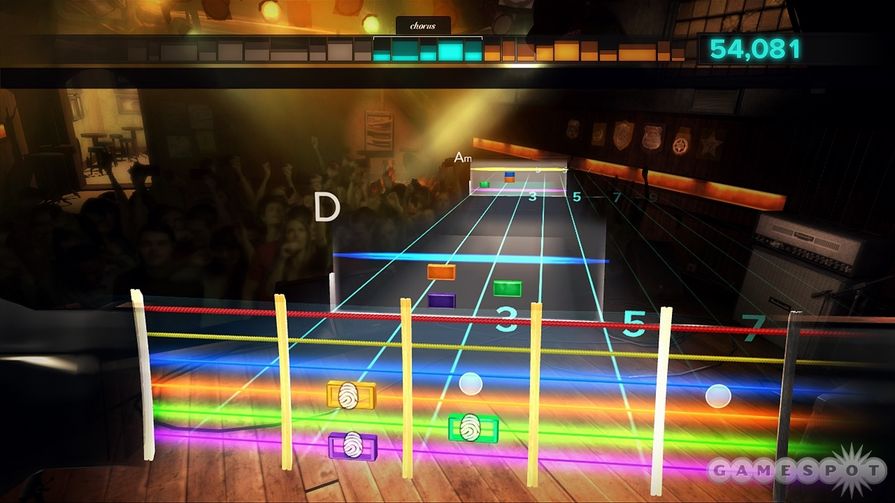Chords can get a little crazy at high speed.